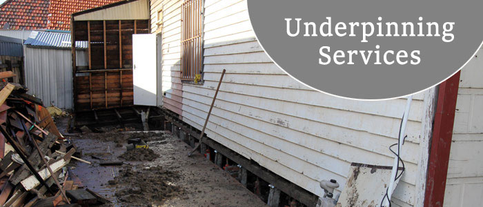 Underpinning South Morang