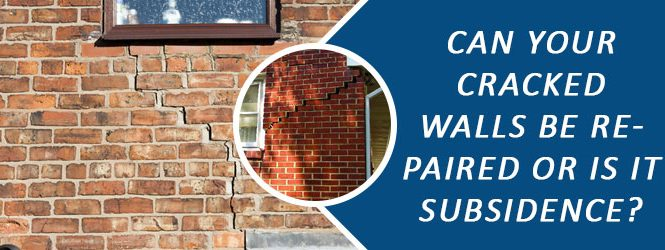 Cracked Walls Be Repaired Melbourne