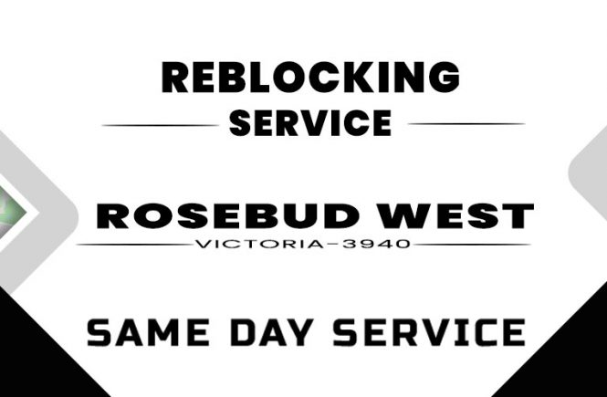 Reblocking Rosebud West